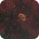 Crescent Nebula  (NGC 6888) and Soap Bubble (PN G75.5+1.7),                                dswtan