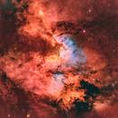 Sh2-155 - Cave Nebula Region in HSO-RGB,                                pete_xl