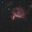 Barnard Loop to Orion Nebula,                                John Blumert