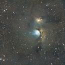 Casper the friendly ghost nebula,                                Deddy Dayag