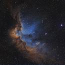 Wizard nebula SHO,                                lucky_s