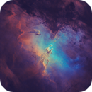 M16 NGC6611 Eagle Nebula,                                EmuHead
