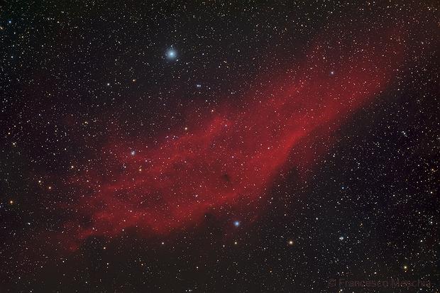 The California nebula in Perseus,                                Francesco Meschia