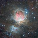 Nébuleuse d'Orion - M42,                                Le Mouellic Guillaume