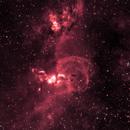 NGC 3576,                                Oliver Berresford