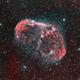 NGC 6888, The Crescent Nebula,                                Mark Wetzel