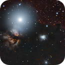 Horsehead Nebula  Flame Nebula  and Alnitak,                                msmythers