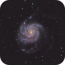 M101 LRGBHA,                                Nathan Duso