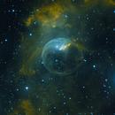 NGC 7635 - Bubble Nebula (reprocessed),                                Matthew
