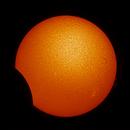 Partial solar eclipse 10 June,                                Gianluca Galloni