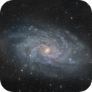 M33 in RGB,                                pete_xl
