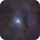 Close up of Rho Ophiuchi,                                avarakin