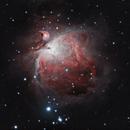 M42 Orion Nebula 20201216 3420s HORGB 01.5.5,                                Allan Alaoui
