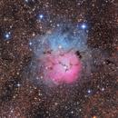 M20 - The Trifid Nebula,                                Casey Good