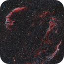 Veil Complex (Cygnus Loop, Witch's Broom Nebula, Pickering's Triangle),                                JMDean