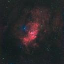 Bubble Nebula - ngc7635 - Ha-rvb,                                Frédéric Girard
