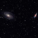 M81 and M82 Galaxies,                                Rick Gaps