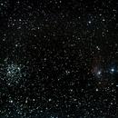 La nebuleuse de la bulle ( ngc 7635 ) et M52,                                Alex_Salade