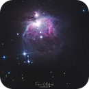 Orion Nebula M42,                                Fabian