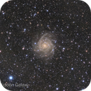 IC 342 with IFN by 70mm refractor,                                oldmiow