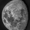 Gibbous moon,                                Pascal Gouraud