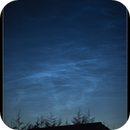 Noctilucent Clouds (NLC's) Prestwich, Manchester UK,                                Mike Oates