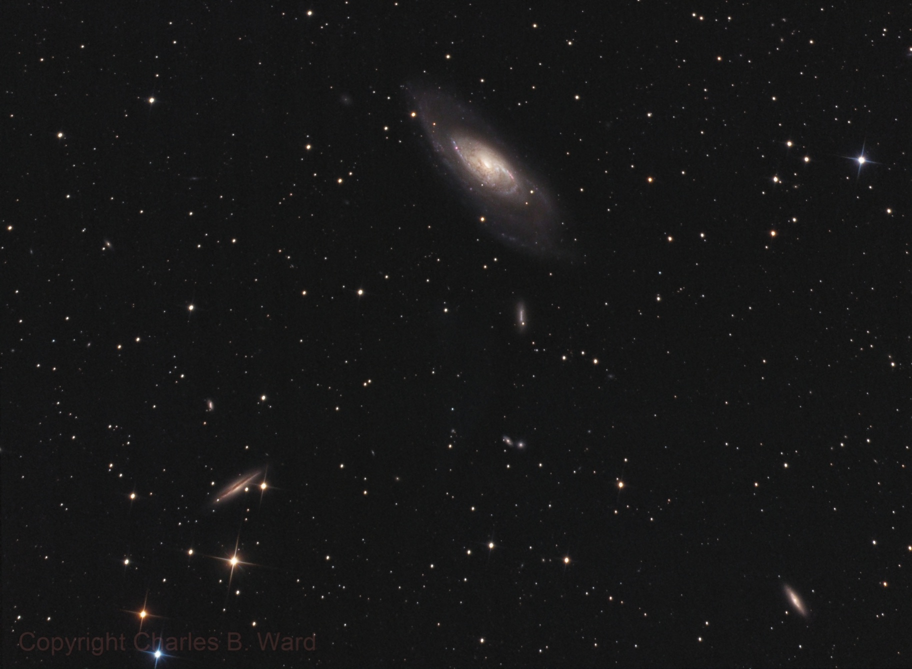M106 and Friends,                                Charles Ward