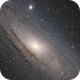 M31 Andromeda,                                Bret Waddington