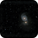 M-51 Whirlpool Galaxy in Ursa Major,                                Francois Theriault
