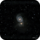 M-51 Whirlpool Galaxy in Ursa Major,                                Francois Theriault