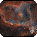 High res IC 1805,                                Metsavainio