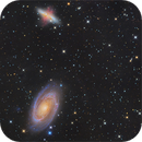 M81 & M82 LHaRGB enhanced,                                Francesco Antonucci