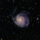 M101 LRGB Super L Processing 347 Images,                                jerryyyyy