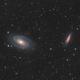 M81, M82 and some IFN - HaLRGB,                                Victor Van Puyenb...