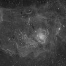 Lagoon Nebula in SII,                                Theodore Arampatzoglou