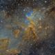 IC 1805 - Heart of the Heart Nebula - SHO,                                David Andra
