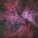 Eta Carina Nebula - HORGB Image,                                Eric Coles (coles44)