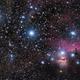 Orion Belt - Flame & Horse Head Nebua,                                CarlosAraya