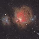 M42, NGC 1977, Great Orion Nebula & Running Man,                                Reinhold Schandl