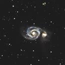 M51 during some moonlight,                                Rob Calfee