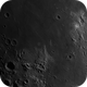 Ritter, Sabine, Delambre, Maskelyne and Torricelli crater. Mare Tranquillitatis including Apollo 11 landing site and craters Arm,                                Arne Danielsen