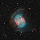 Messier 27 The Dumbell Nebula,                                Barry Wilson