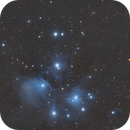 M45 The Pleiades/AKA The Seven Sisters,                                John Kulin