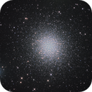 M13 - Great Hercules Cluster - First Light,                                Anis Abdul
