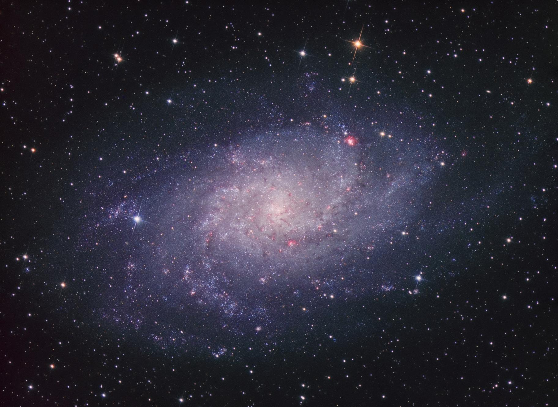 M33 The Triangulum Galaxy LHaRGB,                                Kesphin