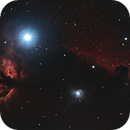 Horsehead and Flame Nebulae - 8se and CEM120,                                Pat Darmody