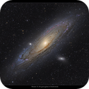 The Great Galaxy of Andromeda, M31,                                Metsavainio