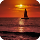 Sunset by the sea - June 17, 2018,                                Ray Caro
