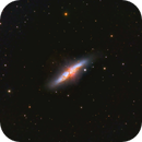 M82 with ZWO ASI1600MM-P monochrome CMOS,                                JohnAdastra