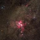 NGC 3372 (Carina Nebula),                                Paweł Koczan